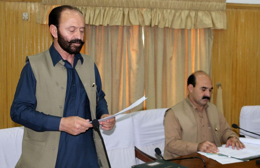 Deputy Speaker GBLA Jaffarullah Khan