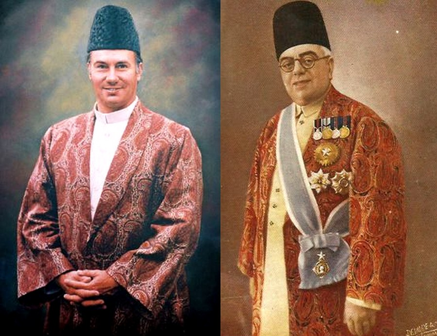 Aga Khan III and Aga Khan IV
