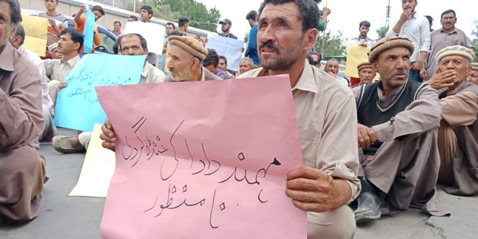 Nasirabad Minerals Protest in Gilgit