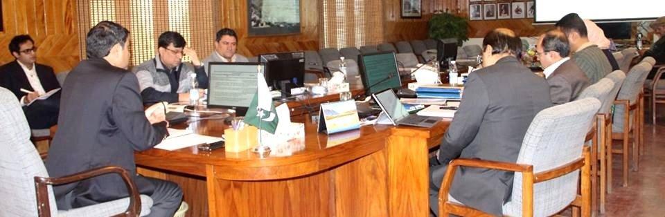 چیف سیکریٹری بابر حیات تارڑ ںے گلگت بلتستان میں 21 منصوبوں کی منظوری دے دی