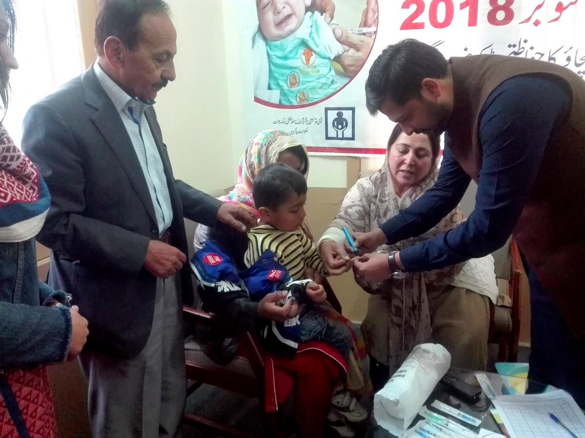 ہنزہ میں خسرہ سے بچاؤ مہم کا باقاعدہ آغاز