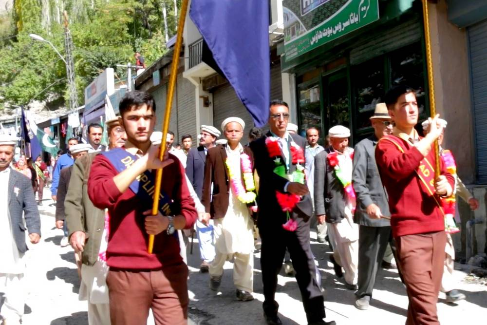 World Space Day Walk in Hunza