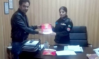 Aslam Shah with SP Hunza