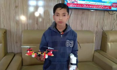 Uswa Public School Skardu, Drone