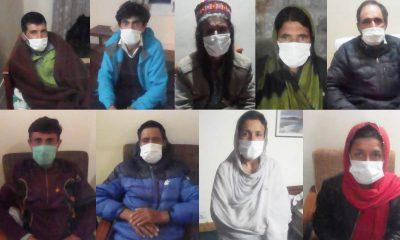 ضلع ہنزہ کے وادی شمشال کے کرونا وائرس قرنطینہ