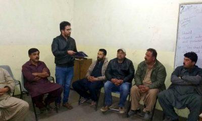 کریم آباد بزنس ایسوسی ایشن کے عہداداران اور ممبران کو سیڈو گلگت بلتستان